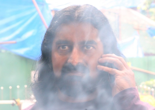 Mohanji in smoke