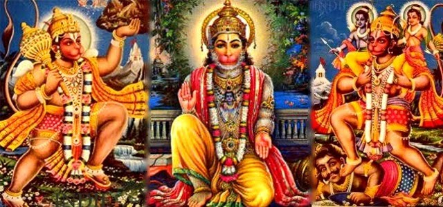 Image result for keep alum in the feet of lord hanuman