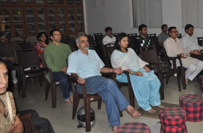 Rajeev in his first BTW session on 21st October, 2012