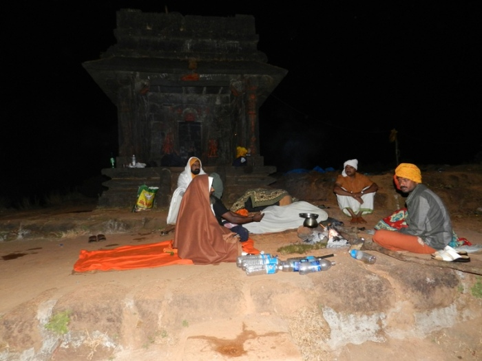 Night of 31 Dec 2012 at Kudajaadri... Solitude descended on us as the grace from heavens.