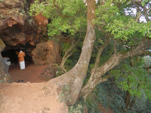 The Ganapati cave at Kudajaadri