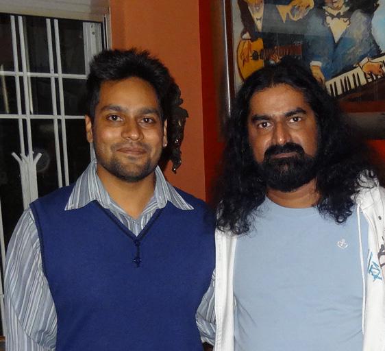 Yashik and Mohanji