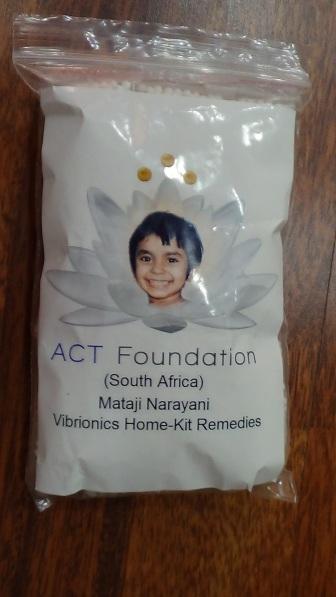 ACT Foundation vibrionics remedies
