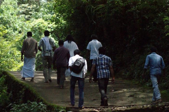 Following Mohanji towards Papanasham, Thirunelli