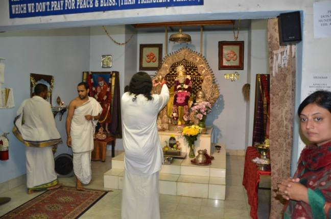 Offering to the deity