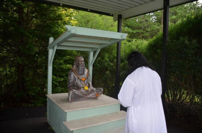 Mohanji at the Yogaville ashram pic5
