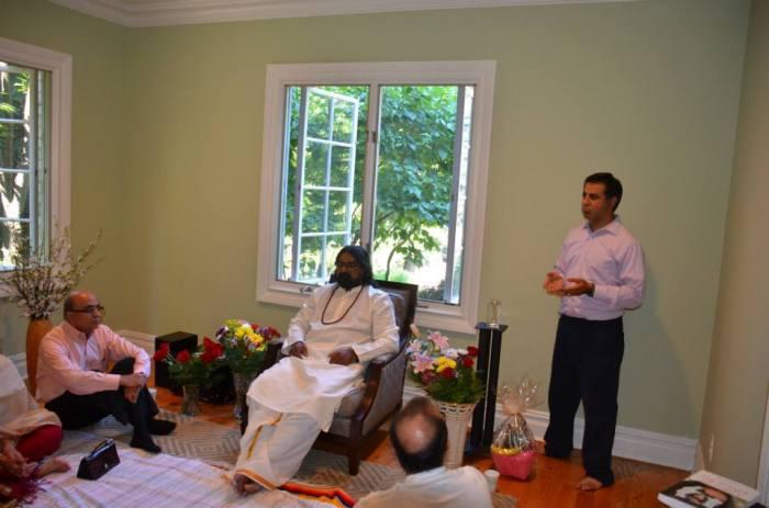 Mohanji in Tenafly 3
