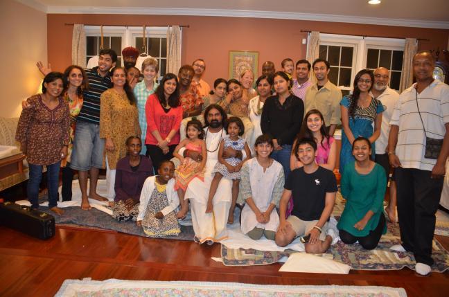 Mohanji in New York - saying goodbye