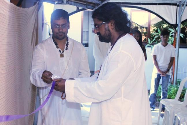 Mohanji opening Merunanda Temple