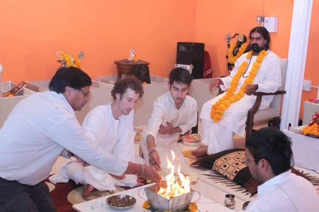 Mohanji -Opening of Merudanda Temple