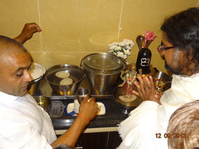 Blessed coconuts with big pots of coconut water self-refilled on daily basis!
