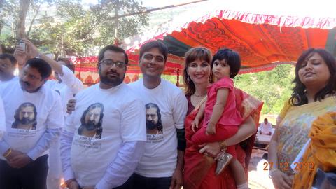 Mohanji. Bless the world family
