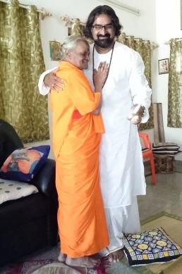 Mohanji and Devi Amma in Whitefield
