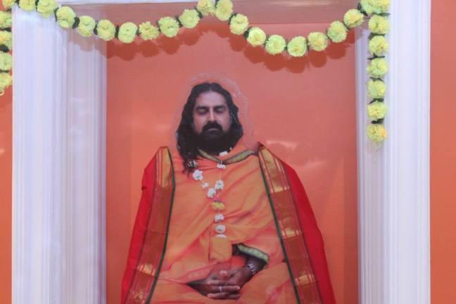 Mohanji. Merudanda ashram