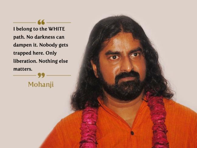 Mohanji quote. Liberation