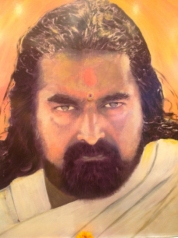 The commissioned painting of Mohanji