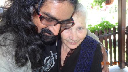 Image 5-Mohanji with my beloved grandma Ana