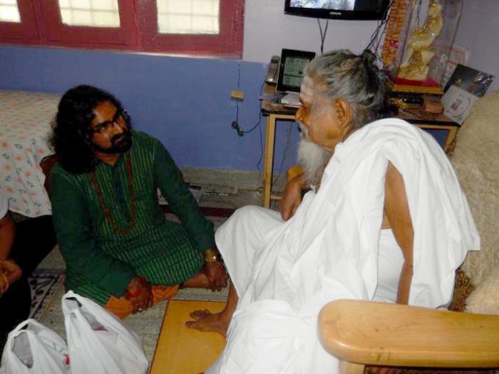 Mohanji With Swami GovindGiri spiritual Siddha and Duttatreya bhakta
