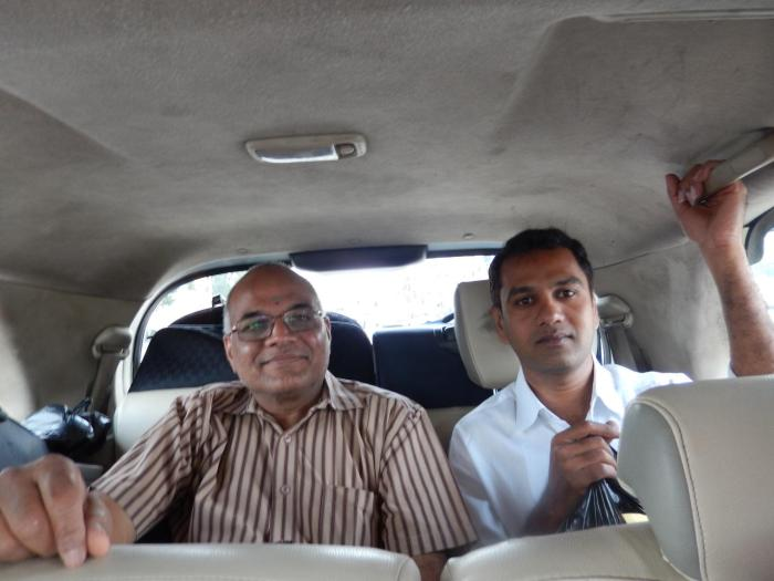 Mr Krishnamurty (Murty Garu) and Mr Jagdish traveling with us. Murty Garu was the leadman of the entourage taking us in the most possible comfortable mode