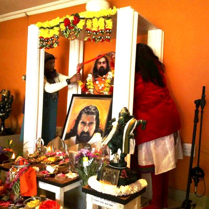 Merudanda ashram, guru poornima