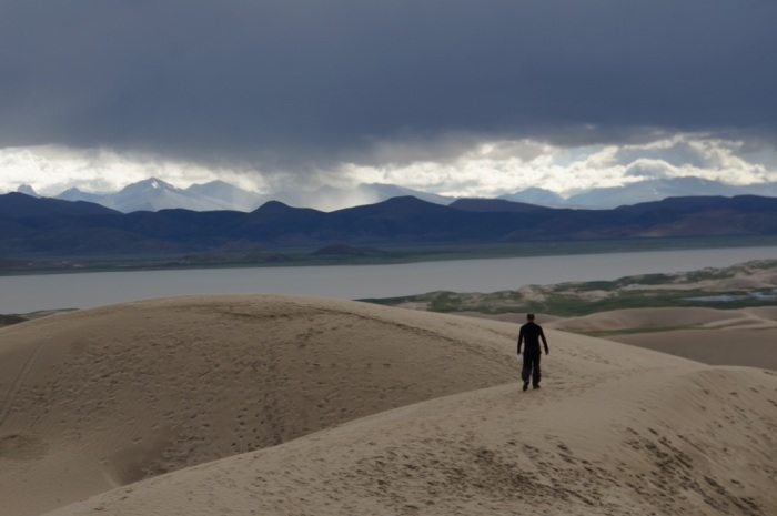Hanumanji's sand dunes in Tibet