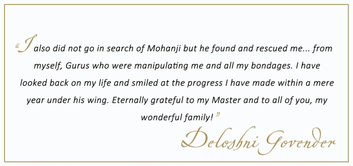 Mohanji - Deloshni Govender