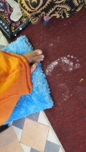 Divine feet of Rajyogi Mohanji.
