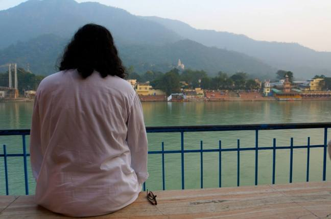 Mohanji at the Ganga