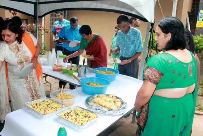 Merudanda ashram - celebration of welcome of Mohanjis murthi