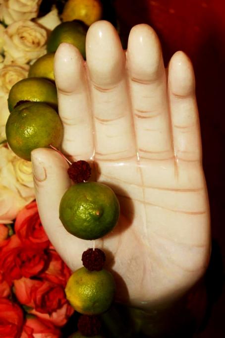 Merudanda ashram - Mohanjis murthi