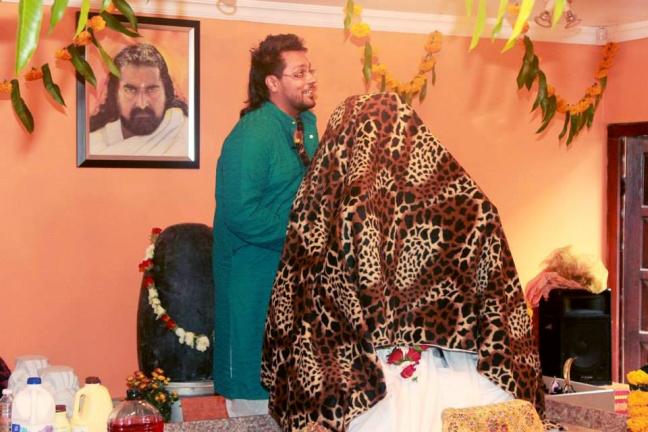 Merudanda ashram - Opening of Mohanjis murthi