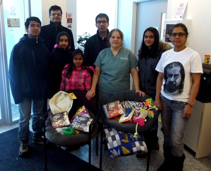 Mohanji Canada team celebrating Mohanjis birthday 1