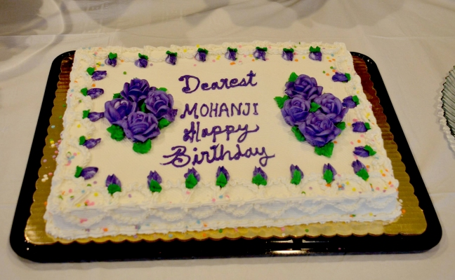 Mohanjis 50th birthday - by the USA