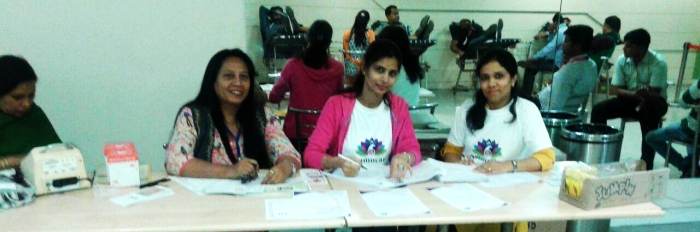 Mohanjis 50th birthday celebration - Blood donation camp Gurgaon 5