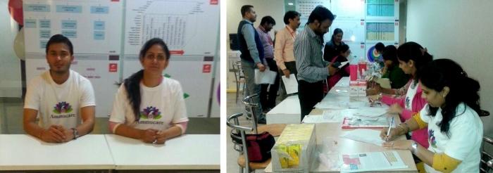Mohanjis 50th birthday celebration - Blood donation camp Gurgaon 6