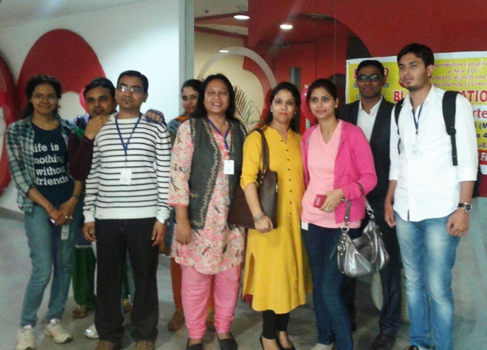 Mohanjis 50th birthday celebration - Blood donation camp Gurgaon 7