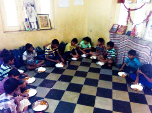 Mohanjis 50th birthday celebration in Malakpet, AADARANA orphanage school for boys 1