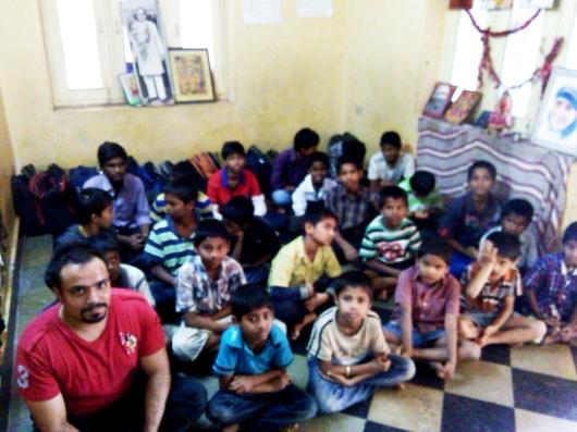 Mohanjis 50th birthday celebration in Malakpet, AADARANA orphanage school for boys 2