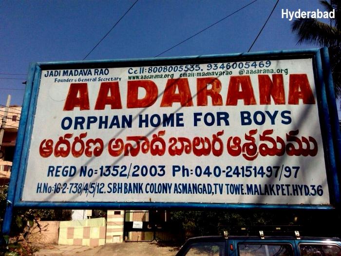 Mohanjis 50th birthday celebration in Malakpet, AADARANA orphanage school for boys
