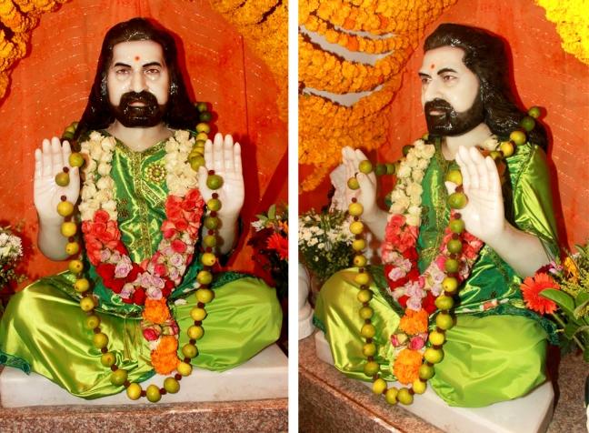 Mohanjis murthi at Merudanda ashram 1