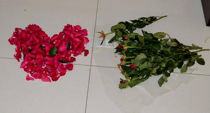 Roses for Mohanjis birthday