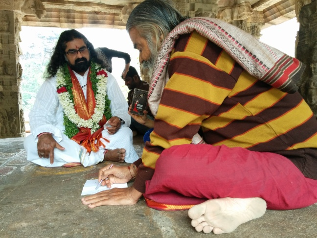 Narasimha look-alike sharing his vision