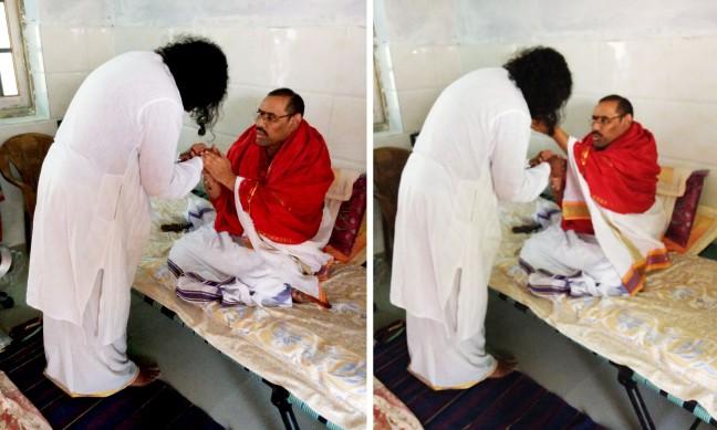 Meeting Swamy Thyagananda