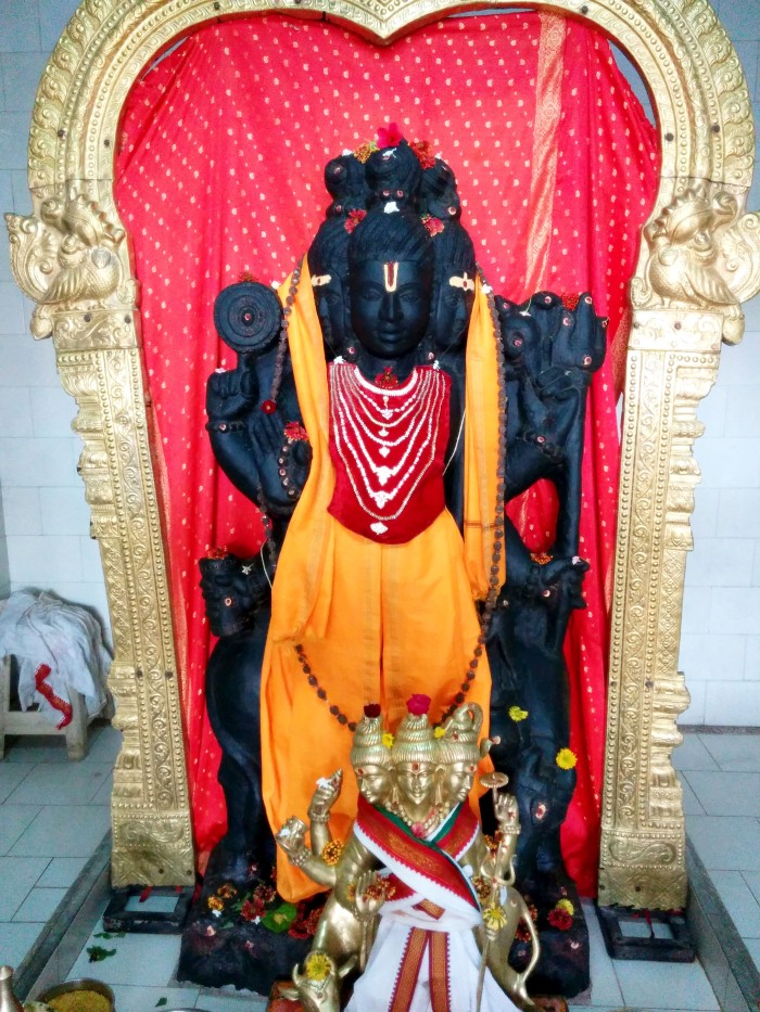 The temple of Lord Dattatreya