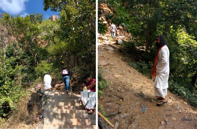 Walk to Jwala Narasimha