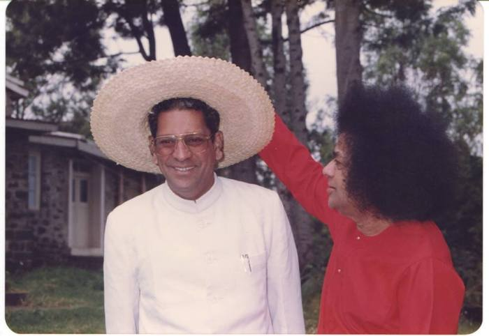 Anil Kumar, the official translator of Sathya Sai
