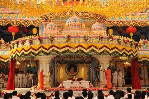 Bhagawan Sai maha samadi