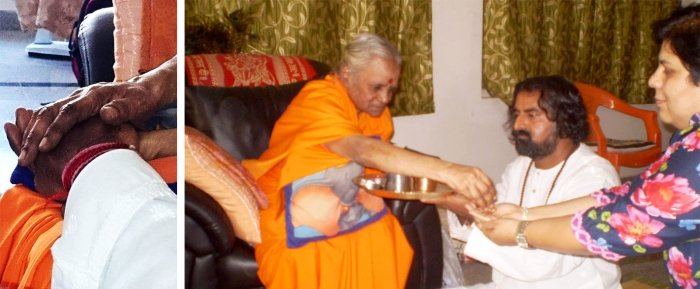 Mohanji with Devi Amma 1