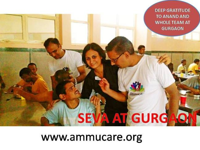 Seva in Gurgaon - Guru Purnima