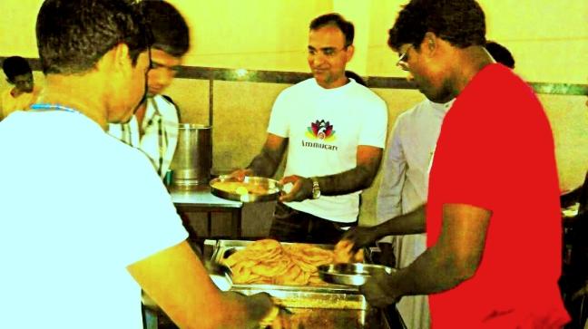 Ammucare - Annadan food seva in Gurgaon - Guru Purnima a
